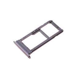 Rack tiroir carte SIM et SD Noir pour Samsung Galaxy S7 Edge photo 2