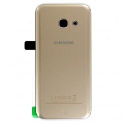 Vitre arrière GOLD pour Samsung Galaxy A3 2017 photo 2