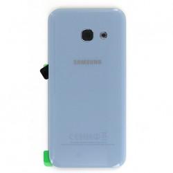 Vitre arrière BLeu pour Samsung Galaxy A3 2017 photo 2