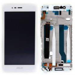 """Bloc Ecran 5,2"""""""" Blanc prémonté sur châssis pour Asus Zenfone 3 Max photo 2"""