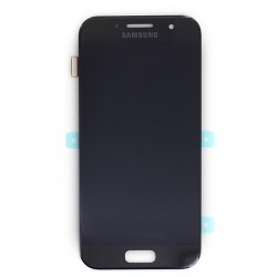 Bloc écran Noir Amoled avec vitre prémontée pour Samsung Galaxy A3 2017 photo 2