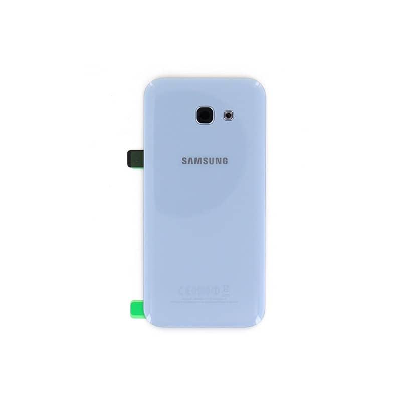Vitre Arriere Bleu Pour Samsung Galaxy A5 2017 Photo 2