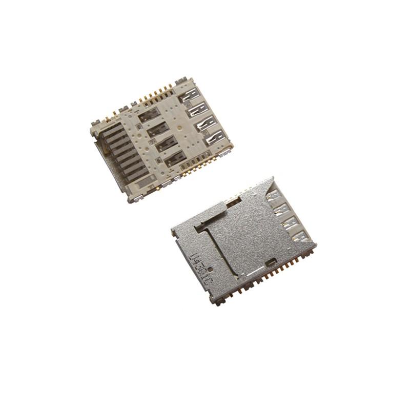 Lecteur de carte SIM et SD à souder pour Samsung Galaxy S5 / S3 / J1/ J2 / Core Prime VE photo 2