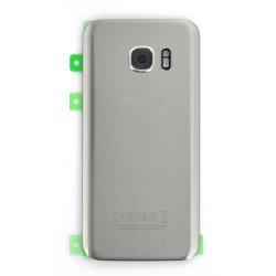 Vitre Arrière Argent pour Samsung Galaxy S7 photo 2