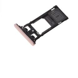 Rack tiroir cartes SIM et SD Rose pour Sony Xperia X Performance Dual photo 2