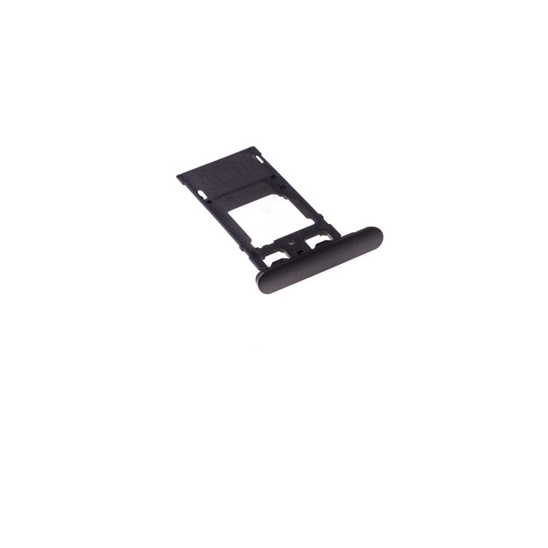 Rack tiroir cartes SIM et SD Noir pour Sony Xperia X Performance Dual photo 2