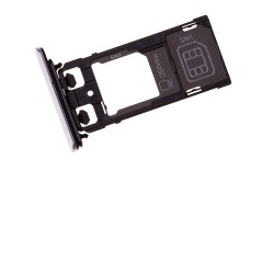 Rack tiroir cartes SIM et SD Blanc pour Sony Xperia X Performance Dual photo 2