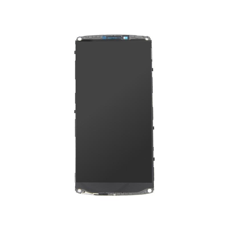 Bloc Ecran Noir prémonté sur châssis avec vitre et LCD pour LG V10 photo 2