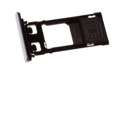 Rack tiroir cartes SIM et SD Blanc pour Sony Xperia X Performance photo 2