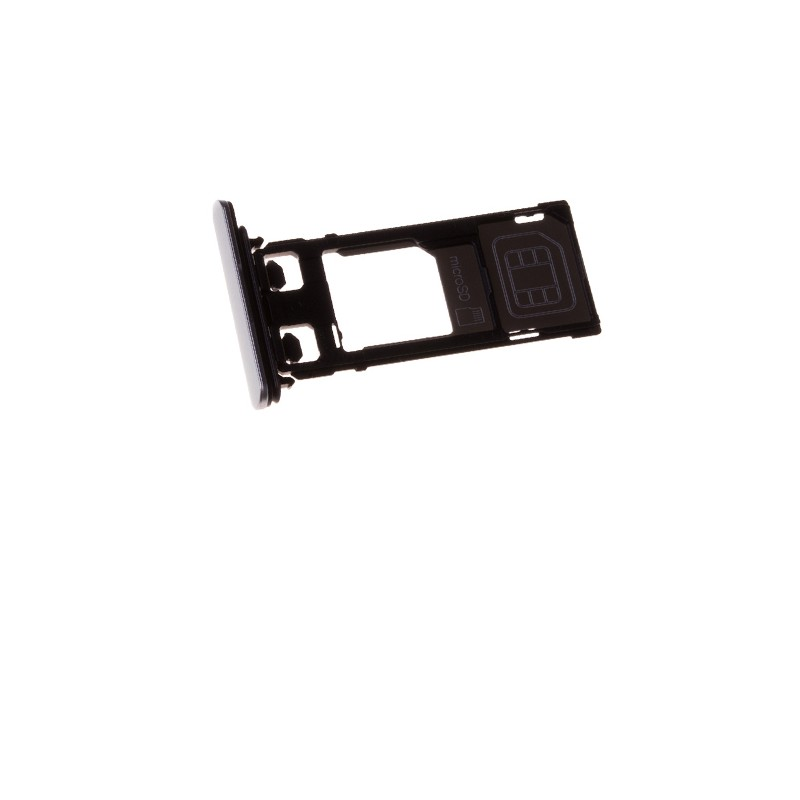 Rack tiroir cartes SIM et SD Blanc pour Sony Xperia X Performance photo 2