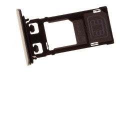 Rack tiroir cartes SIM et SD Or pour Sony Xperia X Performance photo 2