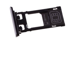 Rack tiroir cartes SIM et SD Noir pour Sony Xperia X Performance photo 2