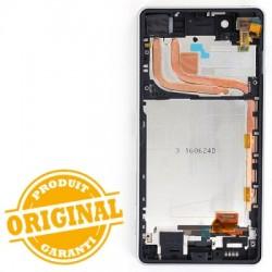 Bloc Ecran Blanc pour Sony Xperia X Performance / Performance Dual photo 3