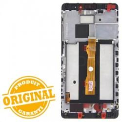 Ecran NOIR COMPLET prémonté sur chassis pour Huawei MATE S photo 3