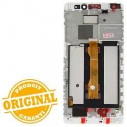 Ecran Blanc COMPLET prémonté sur chassis pour Huawei MATE S photo 3
