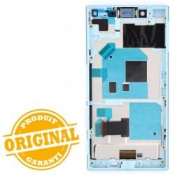 Bloc Ecran Bleu avec châssis pour Sony Xperia X Compact photo 3