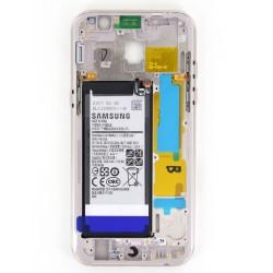 Châssis Intermédiaire avec batterie pour Samsung Galaxy A5 2017 Or photo 2