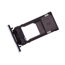 Rack tiroir cartes SIM et SD Bleu pour Sony Xperia X Compact photo 1