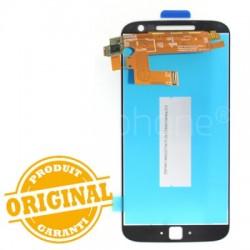 Ecran Blanc avec vitre et LCD pré assemblé pour Motorola Moto G4 Plus photo 3