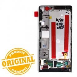Bloc écran Noir COMPLET prémonté sur châssis pour Huawei P6 photo 3