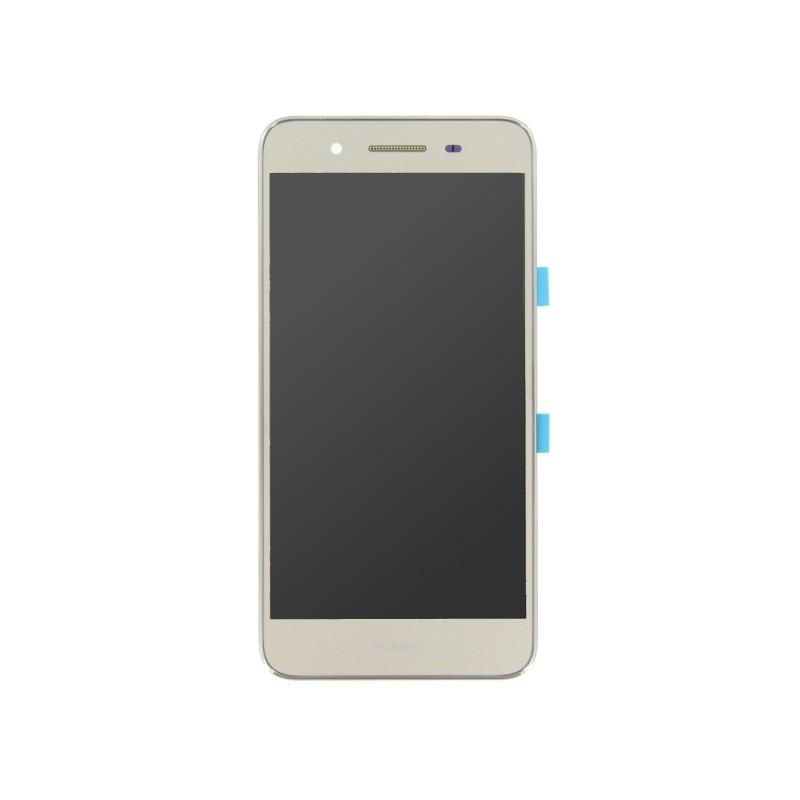 Ecran Or COMPLET prémonté sur châssis pour Huawei P8 Lite Smart GR3 Dual Sim photo 2