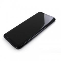 Bloc Ecran Amoled et vitre prémontés sur châssis pour Galaxy S8 Noir Carbone photo 3