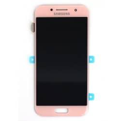 Bloc écran Rose Amoled avec vitre prémontée pour Samsung Galaxy A3 2017 photo 2