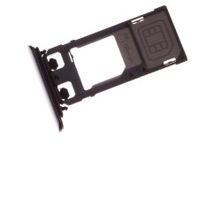 Rack tiroir cartes SIM et SD Noir pour Sony Xperia XZ photo 2