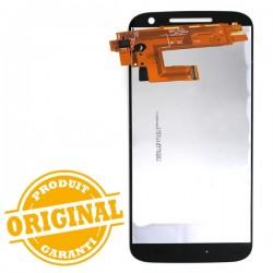 Ecran Noir avec vitre et LCD pré assemblé pour Motorola Moto G4 photo 3