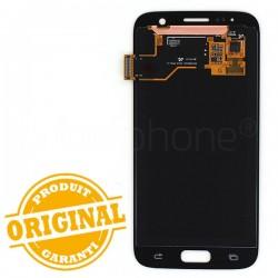 Ecran Amoled et vitre prémontés pour Samsung Galaxy S7 Rose photo 3
