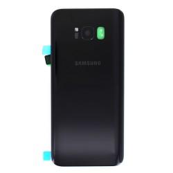 Vitre arrière pour Samsung Galaxy S8 Plus Noir photo 2