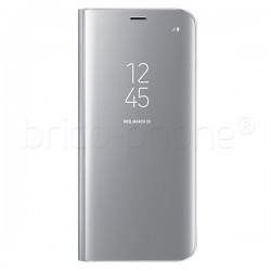 Étui Clear View Fonction Stand Argent pour Samsung Galaxy S8 photo 2