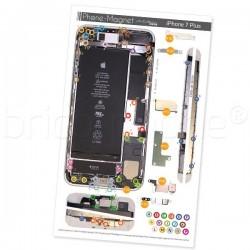 Patron magnétique d'aide au montage pas à pas pour iPhone 7 Plus photo 2