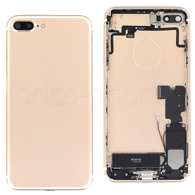 coque arriere complete gold pour iphone 7 plus