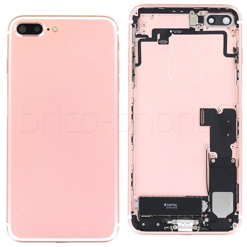 Coque arrière complète Pink Gold pour iPhone 7 Plus photo 2