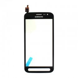 Vitre tactile Noire pour Samsung Galaxy Xcover 4 photo 2