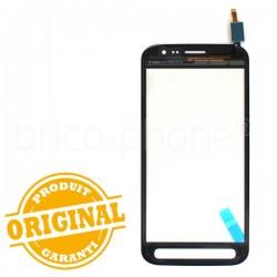 Vitre tactile Noire pour Samsung Galaxy Xcover 4 photo 3
