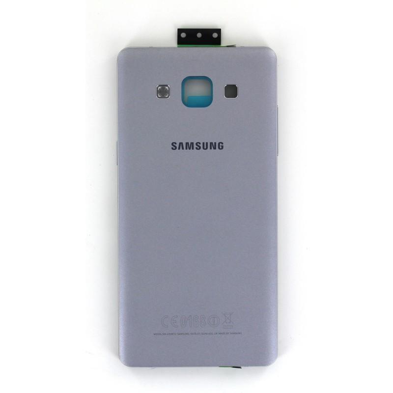 Coque arrière Argent avec châssis pour Samsung Galaxy A5 photo 2