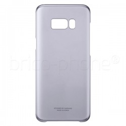 Coque Clear Cover violet pour Samsung Galaxy S8 Plus photo 1