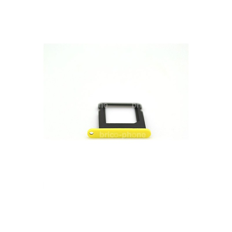 Rack carte sim pour iPhone 5C Jaune photo 2