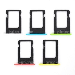 Rack carte sim pour iPhone 5C Blanc photo 3