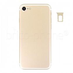 Coque arrière complète Gold pour iPhone 7 photo 4