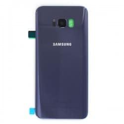 Vitre arrière pour Samsung Galaxy S8 Plus Violet Orchidée photo 1