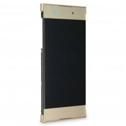 Bloc Ecran Or sur châssis pour Sony Xperia XA1 / XA1 Dual photo 2