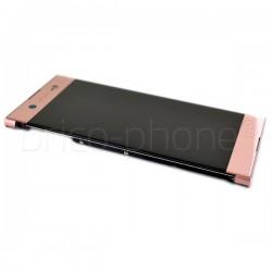 Bloc Ecran Rose sur châssis pour Sony Xperia XA1 ULTRA / XA1 ULTRA Dual photo 3