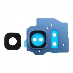 Lentille et contour Bleu Océan de caméra arrière pour Samsung Galaxy S8 Plus photo 1