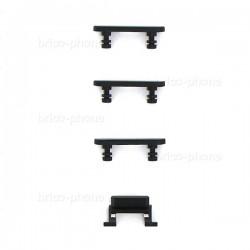 Lot de 4 boutons pour iPhone 7 Noir mat photo 3