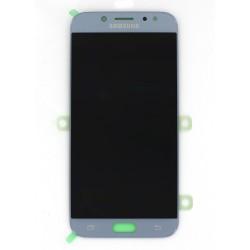 Ecran Amoled Argent et vitre prémontés pour Samsung Galaxy J7 2017 photo 1