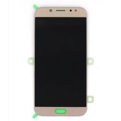 Ecran Amoled Or et vitre prémontés pour Samsung Galaxy J7 2017 photo 1