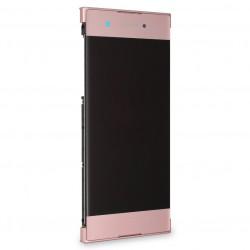 Bloc Ecran Rose sur châssis pour Sony Xperia XA1 / XA1 Dual photo 2